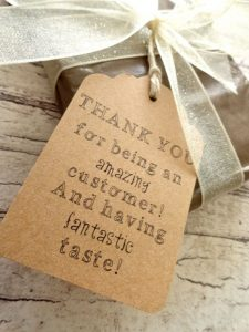 customer thank you tag